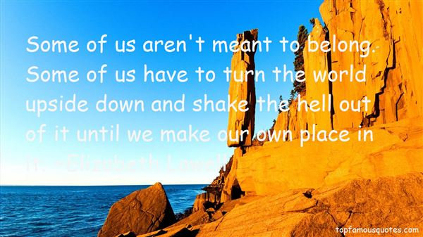Elizabeth Lowell Quotes