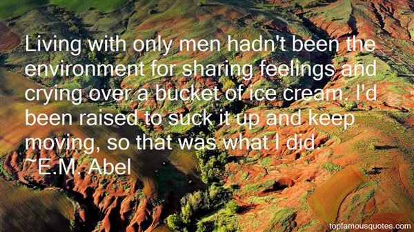 E.M. Abel Quotes