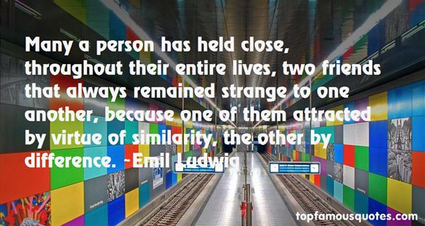 Emil Ludwig Quotes