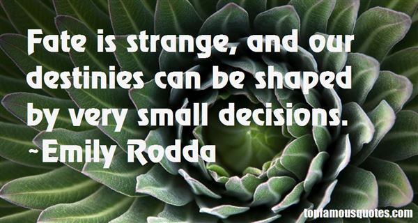 Emily Rodda Quotes