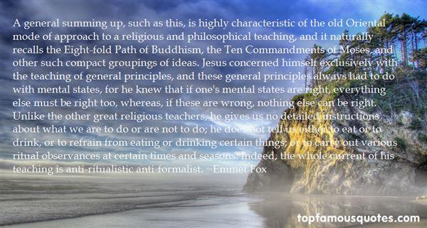 Emmet Fox Quotes