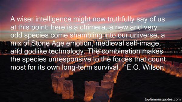 E.O. Wilson Quotes
