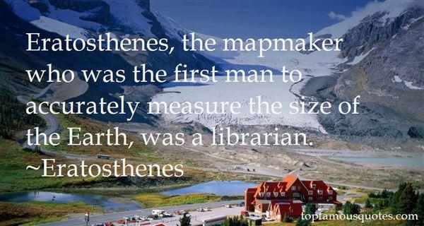 Eratosthenes Quotes