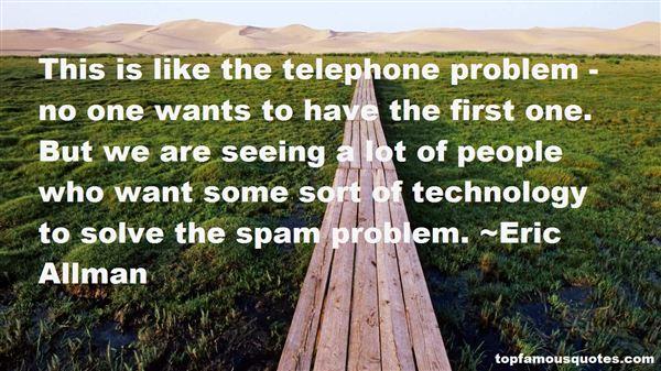 Eric Allman Quotes