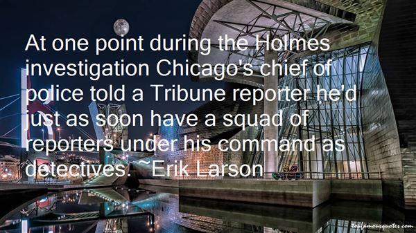 Erik Larson Quotes