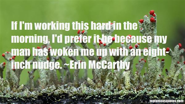 Erin McCarthy Quotes