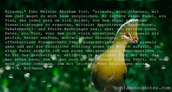 E.T.A. Hoffmann Quotes