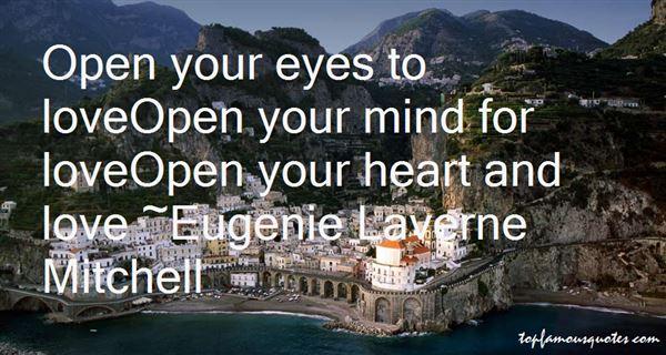 Eugenie Laverne Mitchell Quotes