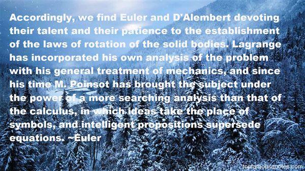 Euler Quotes