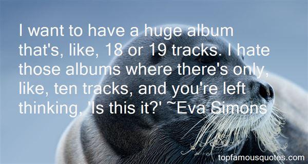 Eva Simons Quotes