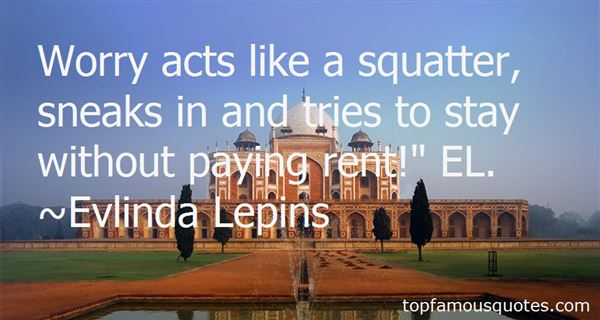 Evlinda Lepins Quotes