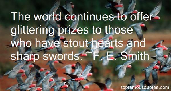 F. E. Smith Quotes