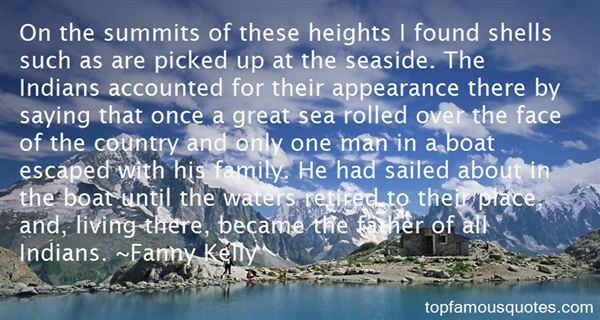Fanny Kelly Quotes