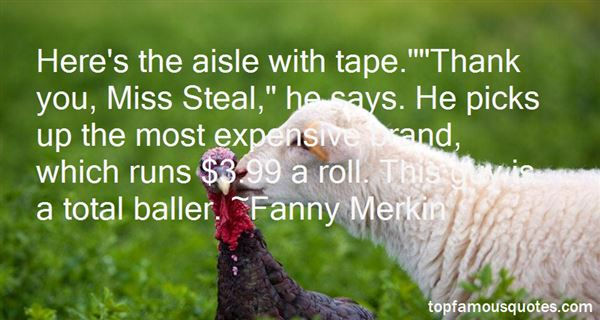 Fanny Merkin Quotes
