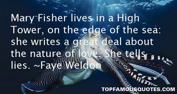 Faye Weldon Quotes