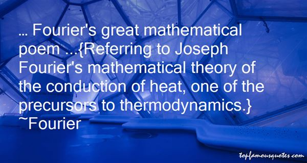 Fourier Quotes