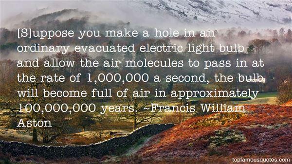 Francis William Aston Quotes