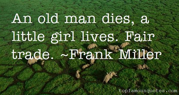 Frank Miller Quotes