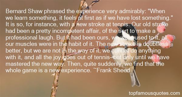 Frank Sheed Quotes