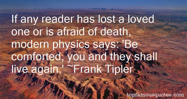 Frank Tipler Quotes