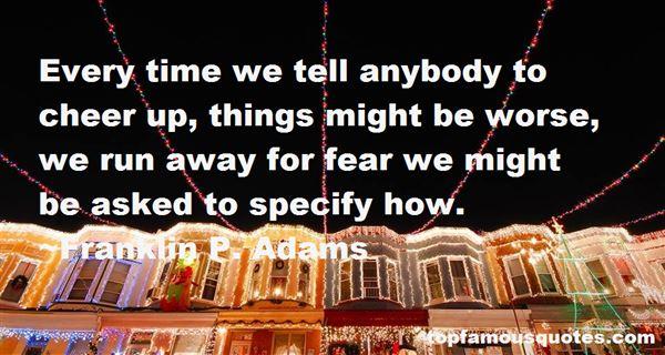 Franklin P. Adams Quotes