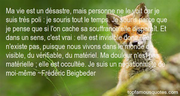 Frédéric Beigbeder Quotes