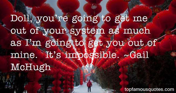 Gail McHugh Quotes