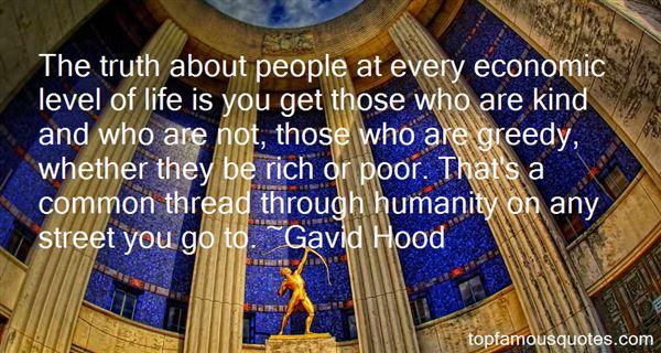 Gavid Hood Quotes