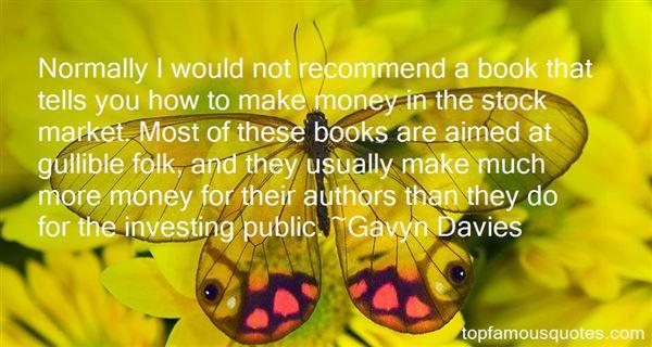 Gavyn Davies Quotes
