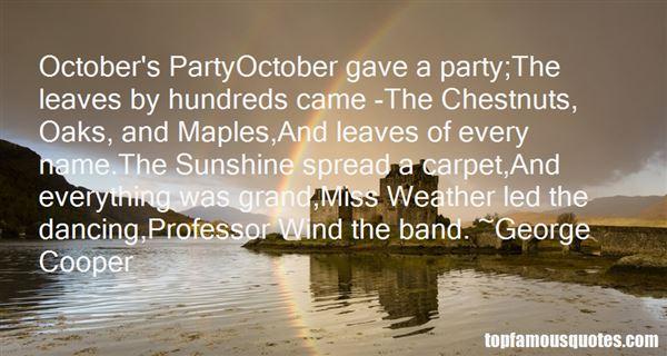 George Cooper Quotes