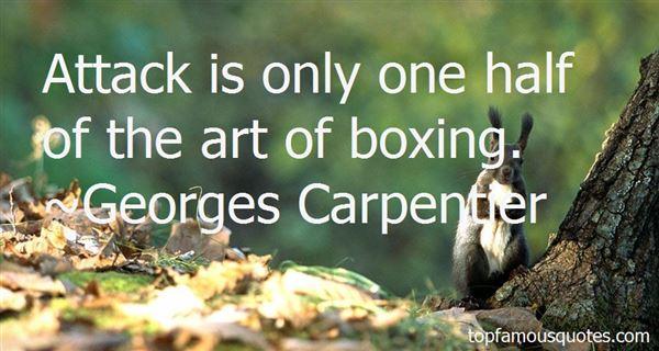 Georges Carpentier Quotes