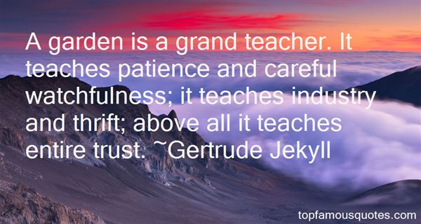 Gertrude Jekyll Quotes