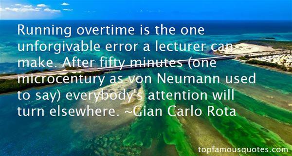 Gian Carlo Rota Quotes