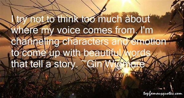Gin Wigmore Quotes