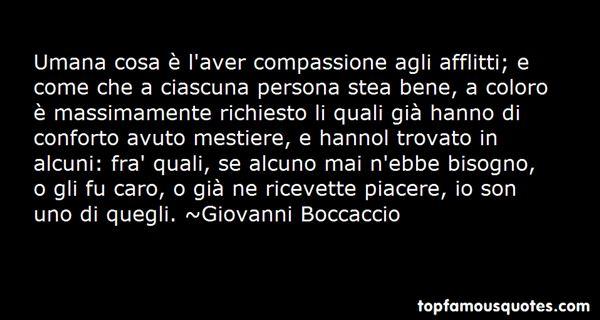 Giovanni Boccaccio Quotes