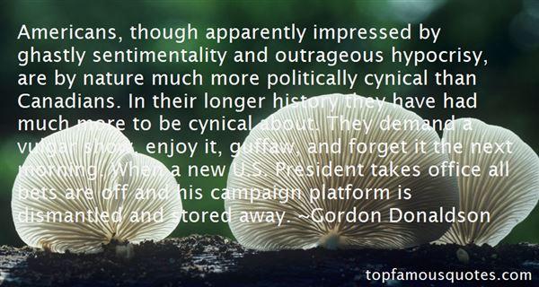 Gordon Donaldson Quotes