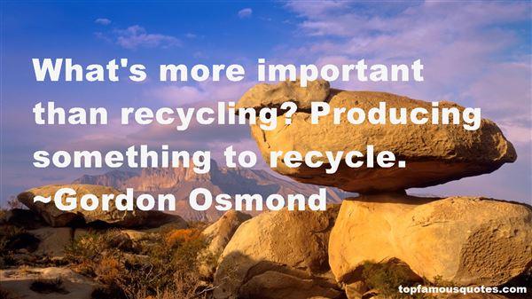 Gordon Osmond Quotes