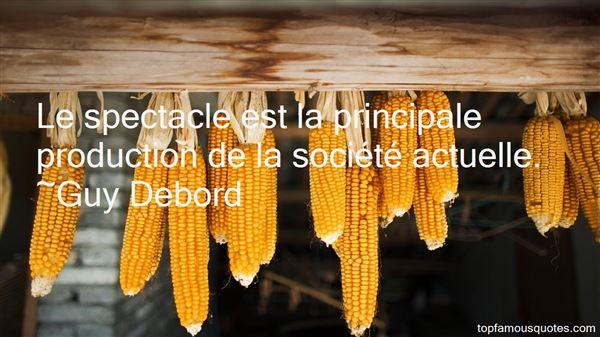 Guy Debord Quotes