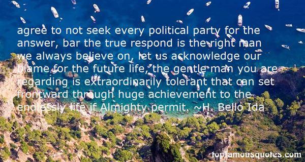 H. Bello Ida Quotes