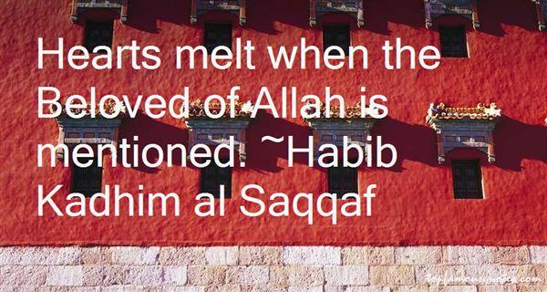 Habib Kadhim Al Saqqaf Quotes