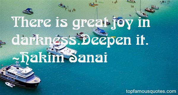 Hakim Sanai Quotes