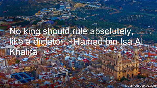 Hamad Bin Isa Al Khalifa Quotes