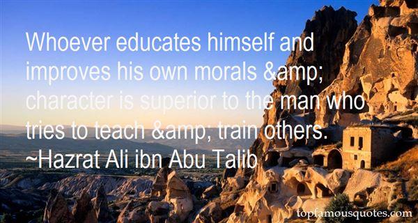 Hazrat Ali Ibn Abu Talib Quotes