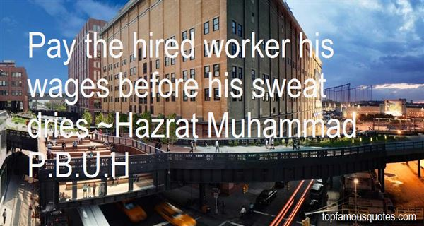 Hazrat Muhammad P.B.U.H Quotes