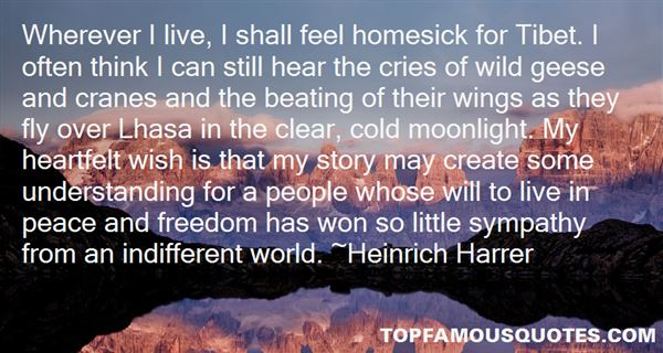 Heinrich Harrer Quotes