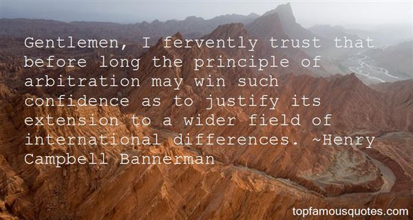 Henry Campbell Bannerman Quotes