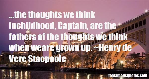 Henry De Vere Stacpoole Quotes