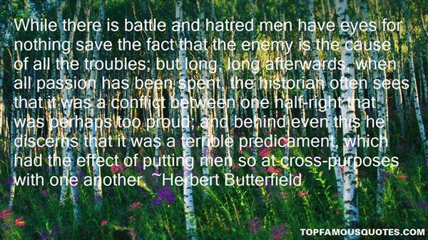 Herbert Butterfield Quotes