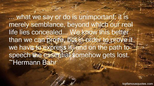 Hermann Bahr Quotes