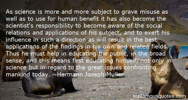 Hermann Joseph Muller Quotes
